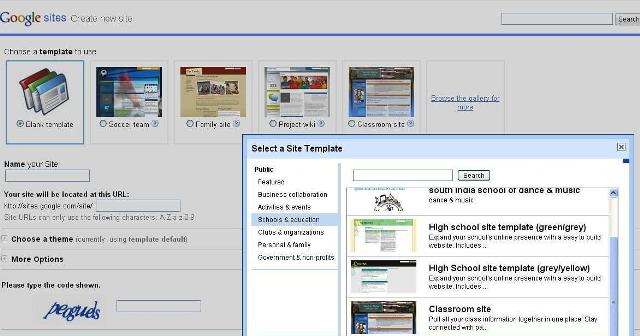 Awesome new templates in google sites the unquiet library share this maxwellsz