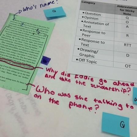 Coding Student Work