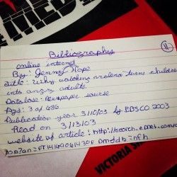Old School Bib Card