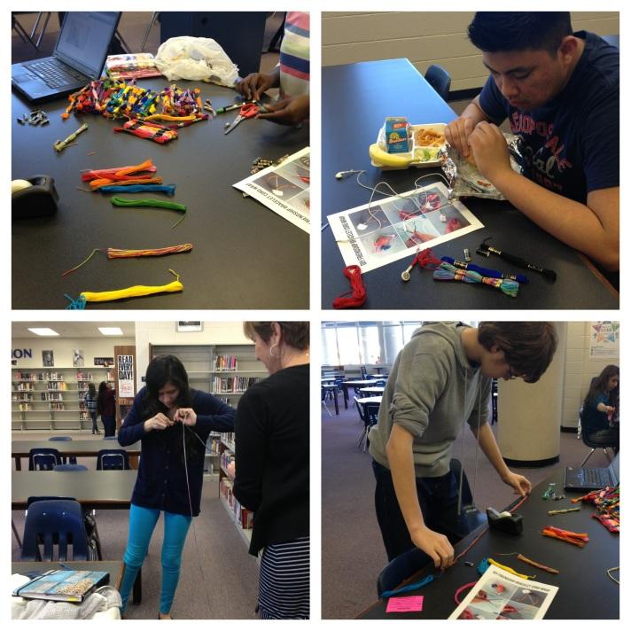 Teen Tech Week Day 1, NHS Media Center