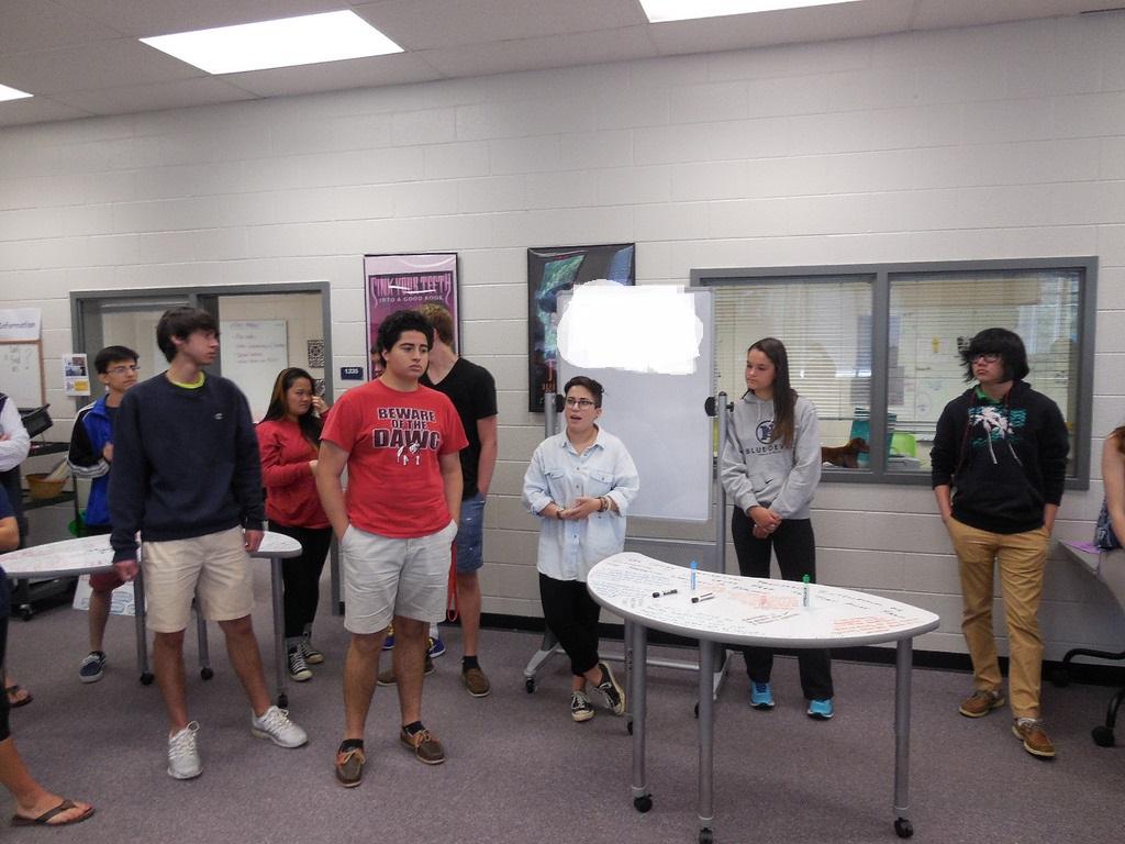 Student Collaborative Conversations ~ Markerboard surfaces collaborative conversations