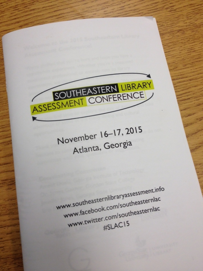 library asssessment conf