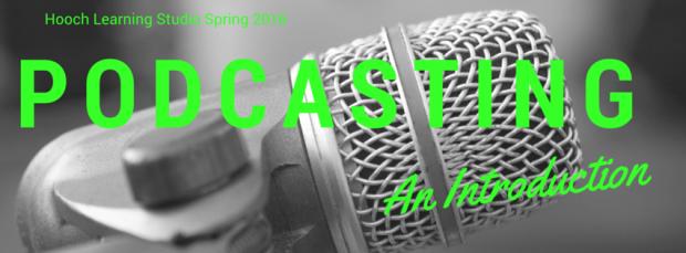 Podcasting header